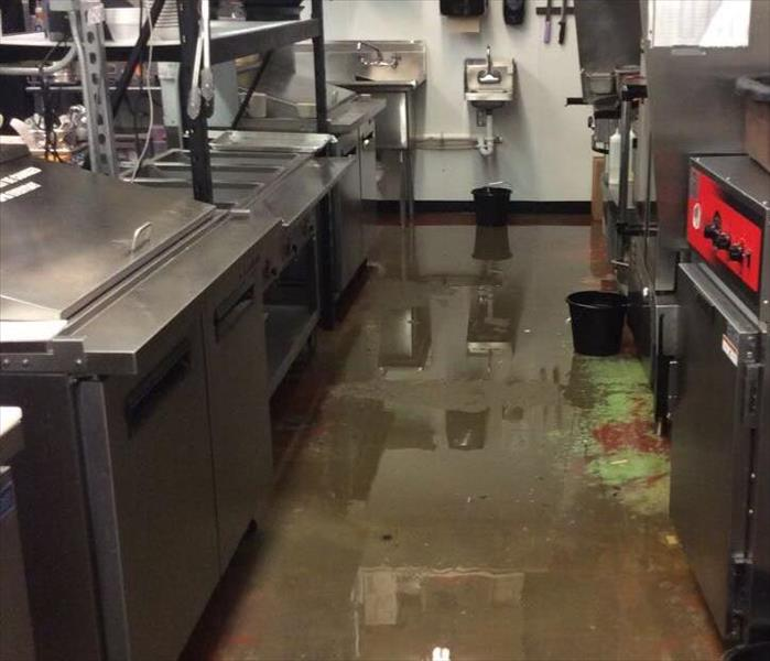 Commercial Kitchen Mishap, MI Before